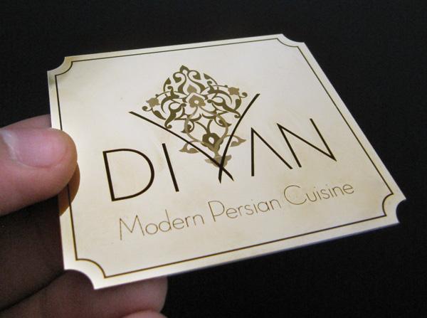 Laser Metal Card 10