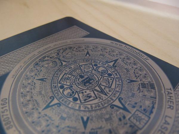 Laser Metal Card 16