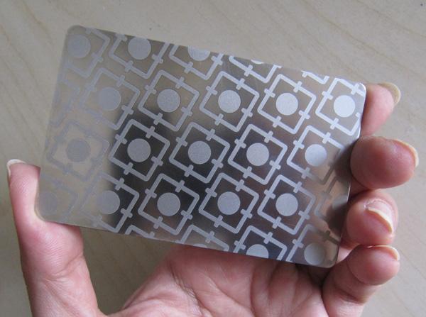 Laser Metal Card 23