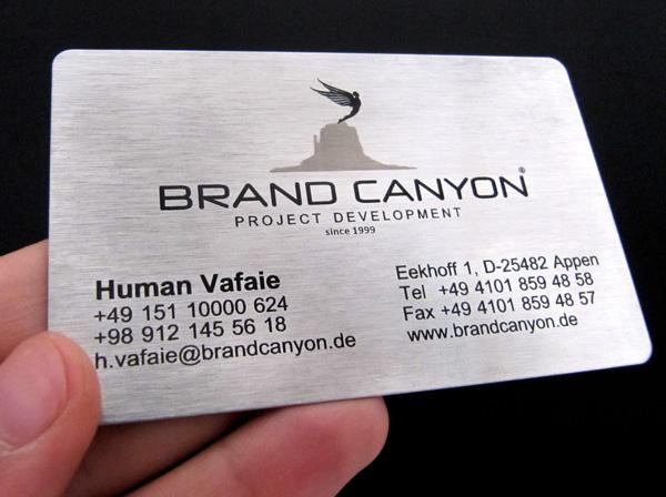 Laser Metal Card 30