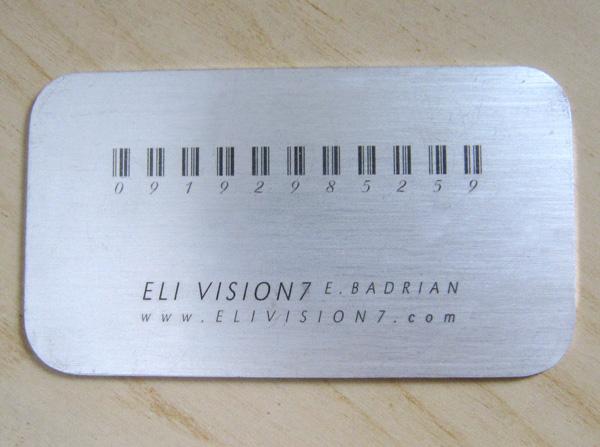 Laser Metal Card 32