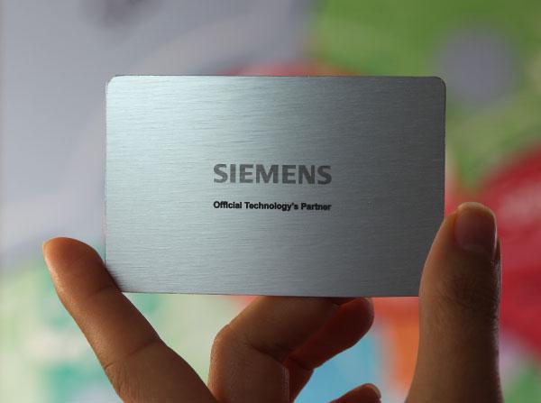 Laser Metal Card 38