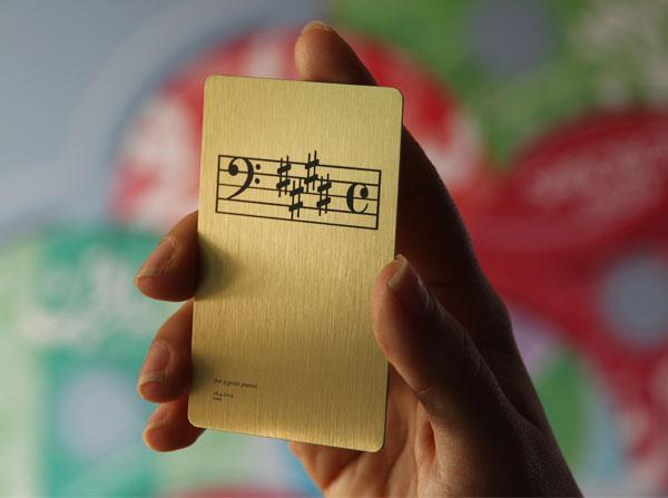 Laser Metal Card 39